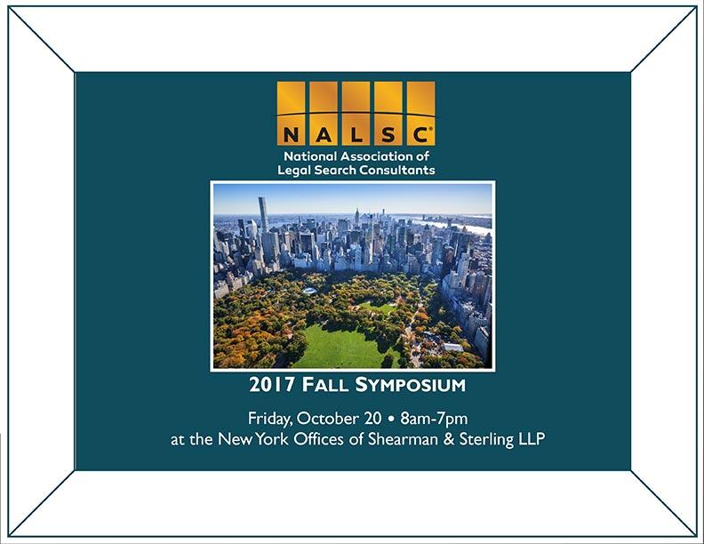 NALSC 2017 Fall Symposium