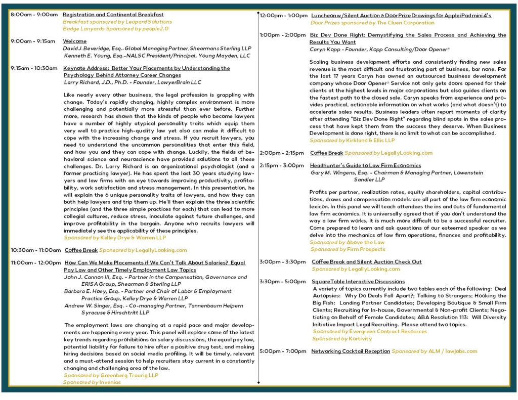 NALSC 2017 Fall Symposium Invitation