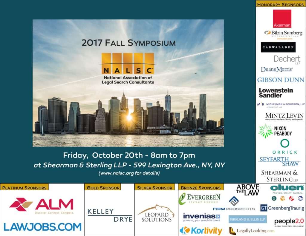 NALSC 2017 Fall Symposium