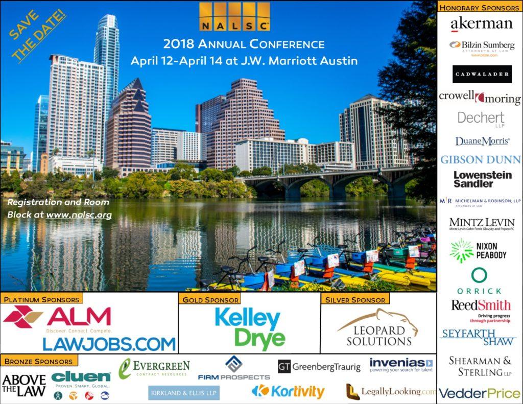 2018 NALSC Conference Program