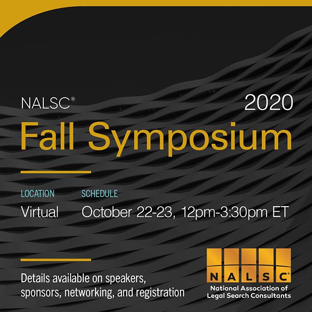 NALSC 2020 Fall Symposium