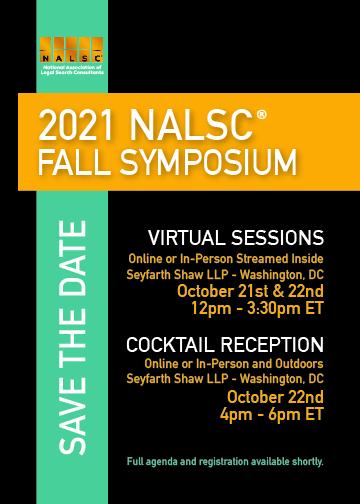 NALSC 2021 Fall Symposium